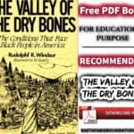 The Valley of the Dry Bones | Free PDF Book