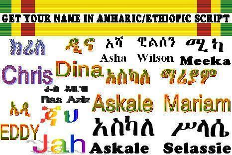 Amharic Names | Translations & Transcriptions