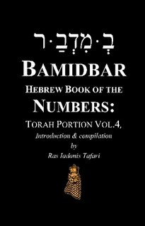 BAMIDBAR Hebrew Book of Numbers Torah Portion Vol.4