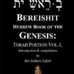 BEREISHITH Hebrew Book of Genesis Torah Portion Vol.1