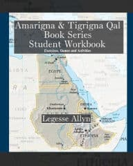 Free PDF Book | Amarigna & Tigrigna Qal Book Series Student Workbook By Legesse Allyn