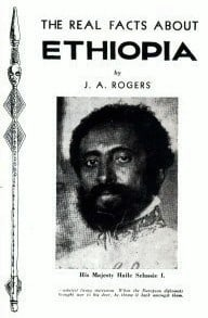 Free PDF Book | The Real Facts About Ethiopia By J. A. Rogers
