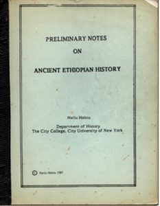 Free Pdf Book Preliminary Notes On Ancient Ethiopian History By