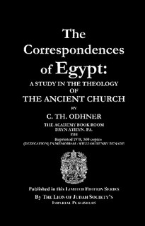 The Correspondences of Egypt: A Study in the Theology of the Ancient Church