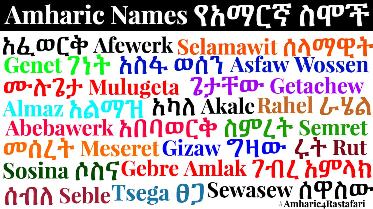 Amharic Fonts | Free Download – RasTafari Groundation | Lion