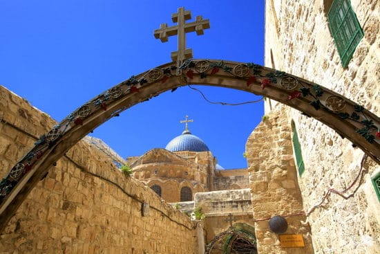 Ethiopian Monastery And Church Of The Holy Sepulchre, Jerusalem, Israel