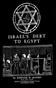 Free PDF Book | Israel's Debt To Egypt By Edward H. Sugden