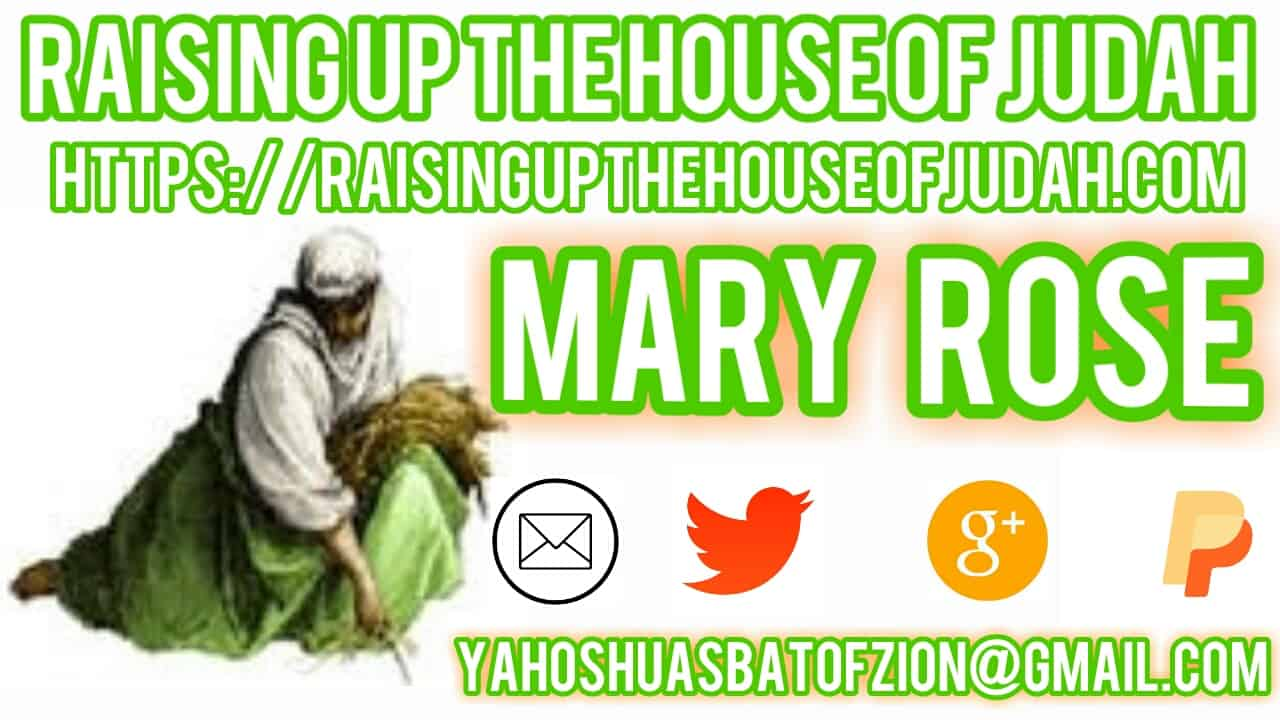 RAISING UP THE HOUSE OF JUDAH